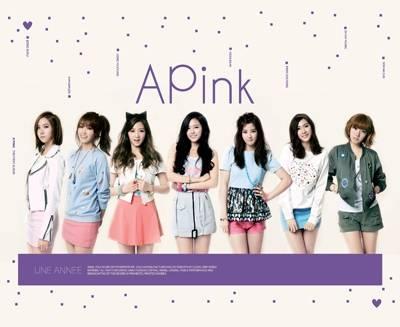 Apink - 1st Album: Une Annee CD