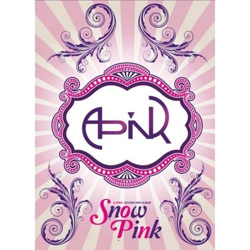 エーピンク (Apink) - 2nd Mini Album: Snow Pink CD