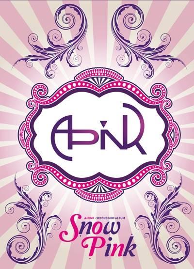 Apink - 2nd Mini Album: Snow Pink CD