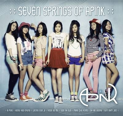Apink - Seven Springs Of Apink CD