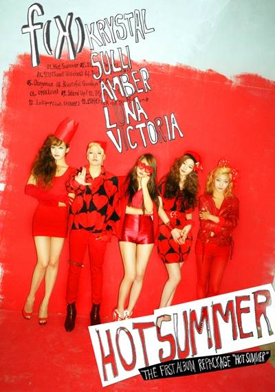 F(x) - 1st Album Repackage: Hot Summer CD