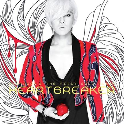 G-Dragon (Bigbang) - 1st Album: Heartbreaker (New Cover) CD