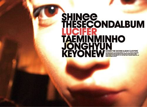 SHINee - 2nd Album: LUCIFER (Type B) CD