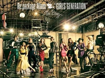 少女時代 (Girls' Generation, SNSD) - The Boys Japan Version CD