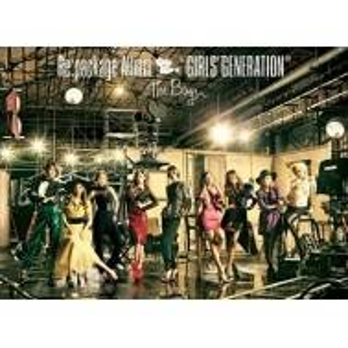 Girls' Generation (SNSD) - The Boys Japan Version (CD+DVD)