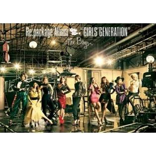 少女時代 (Girls' Generation, SNSD) - The Boys Japan Version (CD+DVD)