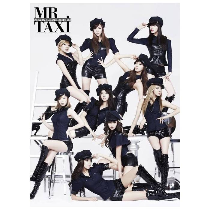 Girls' Generation (SNSD) - 3rd Repackage Mr. Taxi