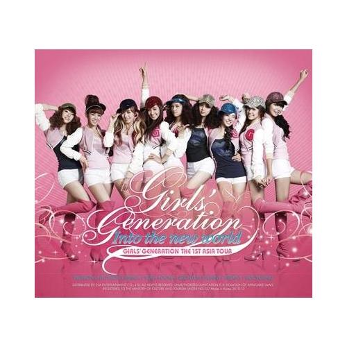 少女時代 (Girls' Generation, SNSD) - The 1st Asia Tour: Into The New World CD