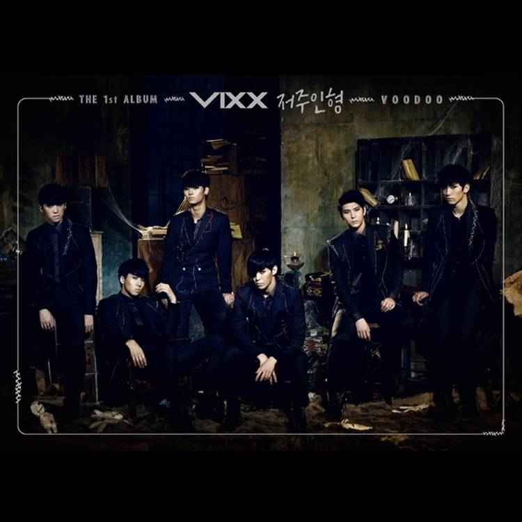 ビックス (VIXX) - 1st Album: Voodoo CD