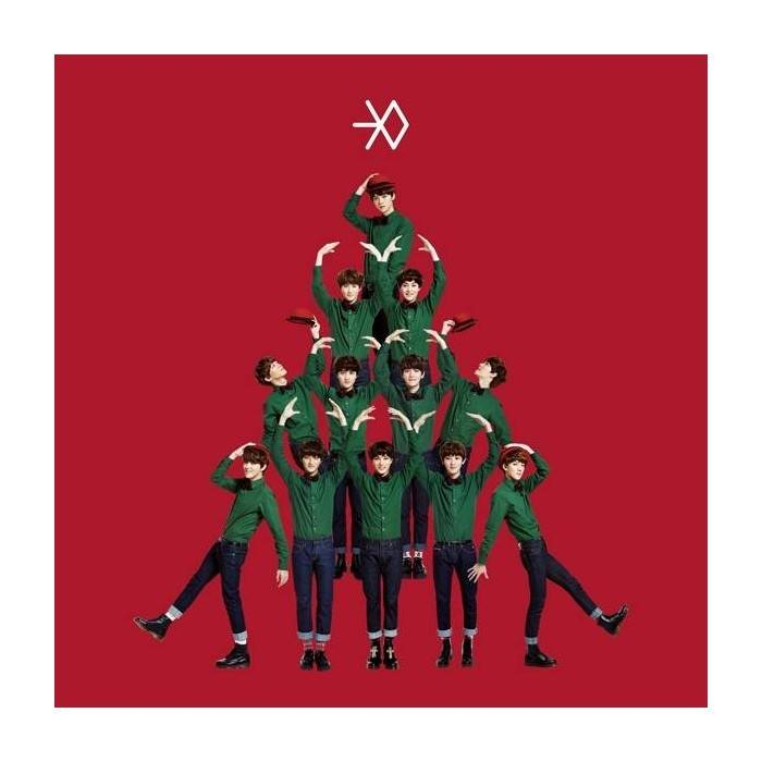 Exo Christmas Album Cover.Exo Winter Special Album Miracles In December Chinese