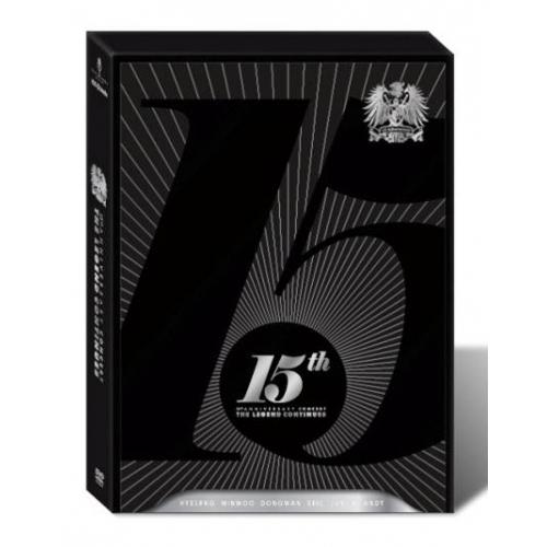 Shinhwa - 15th Anniversary Concert: The Legend Continues DVD