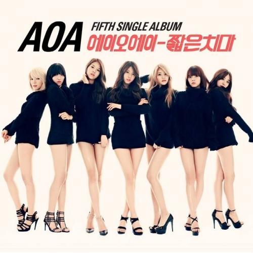 AOA - 5th Single Album: Short Skirts CD