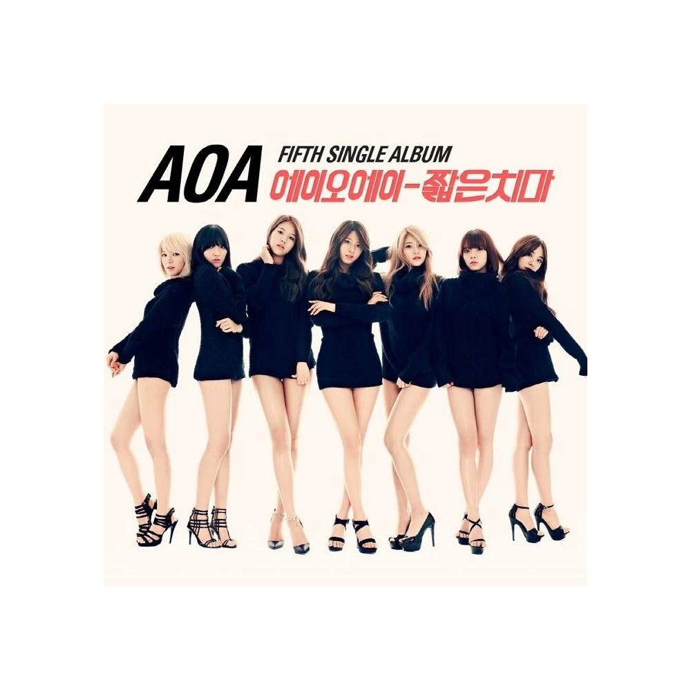 AOA - 5th Single Album Short Skirts