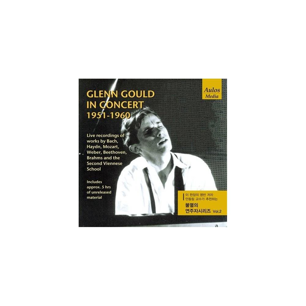 Glenn Gould - In Concert 1951-1960 CD