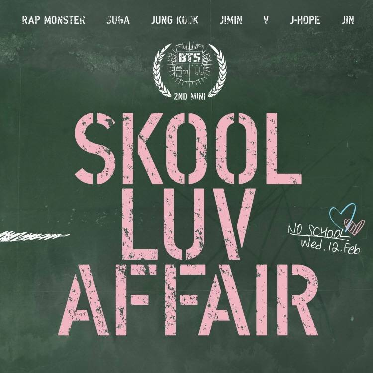 BTS - 2nd Mini Album: Skool Luv Affair CD