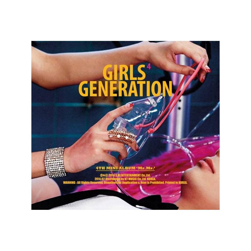 Girls' Generation - 4th Mini Album Mr Mr