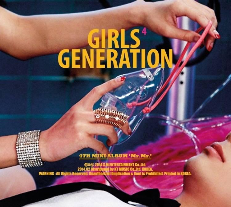 少女時代 (Girls' Generation) - 4th Mini Album: Mr Mr CD