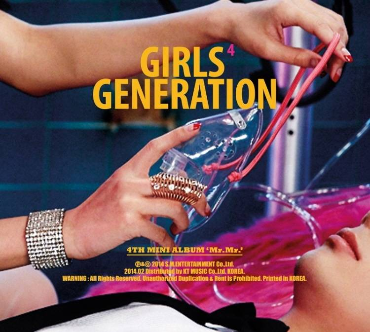 Girls' Generation - 4th Mini Album: Mr Mr CD