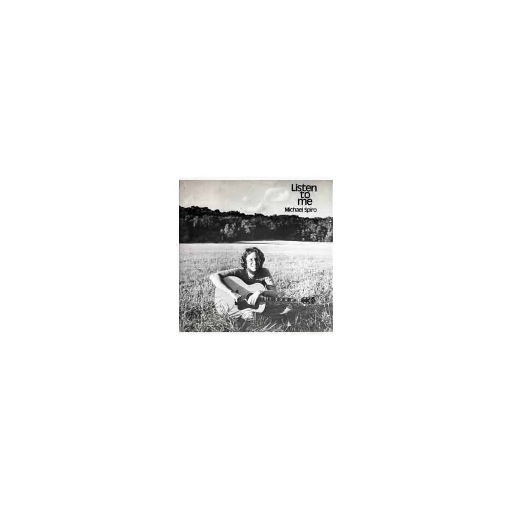 Michael Spiro - Listen To Me Mini LP CD