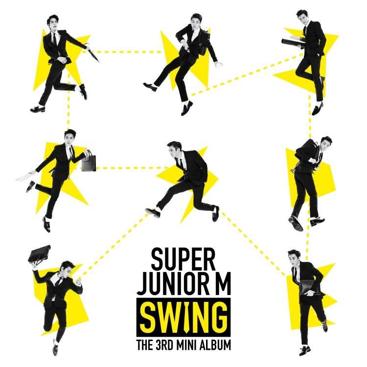 スーパージュニア M (Super Junior M) - 3rd Mini Album: Swing CD
