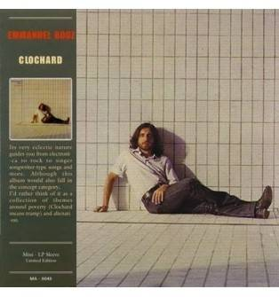 Emmanuel Booz - Clochard Mini LP CD