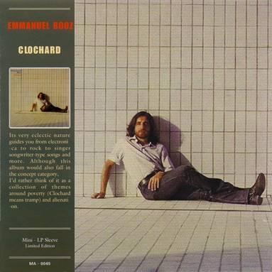 Emmanuel Booz - Clochard (紙ジャケット仕様) CD