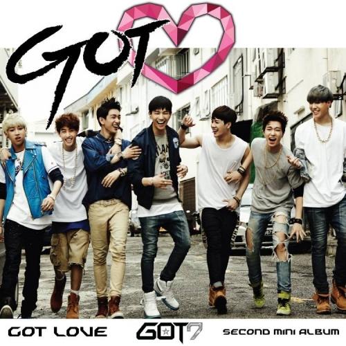 GOT7 - 2nd Mini Album: Got Love CD