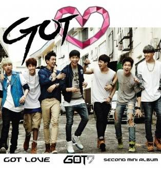 GOT7 - 2nd Mini Album Got Love