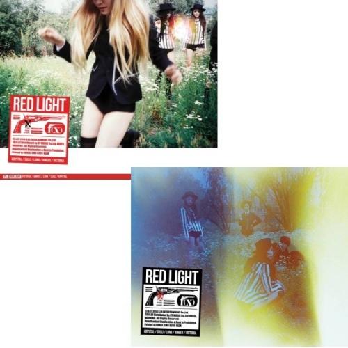 F(x) - 3rd Album: Red Light (Sleepy Cat Version A) CD
