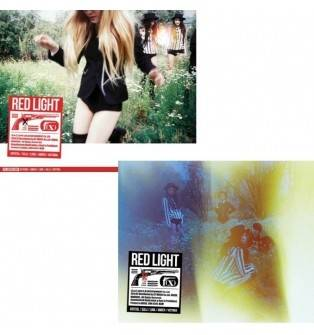 F(x) - 3rd Album: Red Light (Sleepy Cat Version A) CD