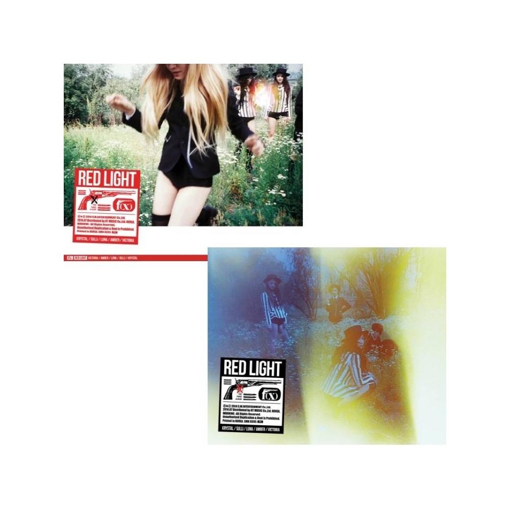 F(x) - 3rd Album Red Light (Sleepy Cat Ver. A)