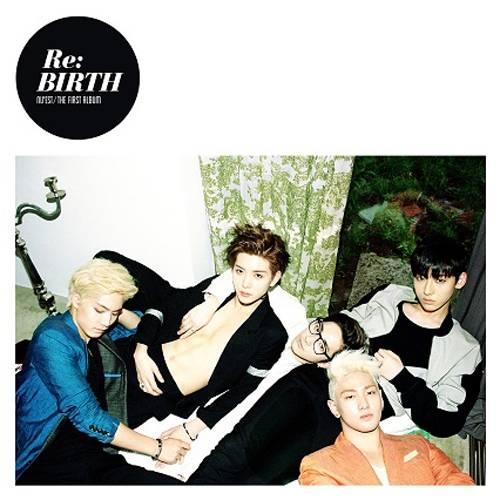 Nu'est - 1st Album: Re:BIRTH CD