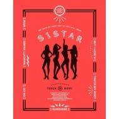 シスター (Sistar) - 2nd Mini Album: Touch & Move CD