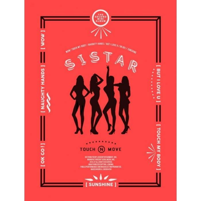 Sistar - 2nd Mini Album Touch & Move