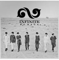 Infinite - 2nd Album Repackage: Be Back CD