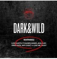 BTS - 1st Album: Dark & Wild CD