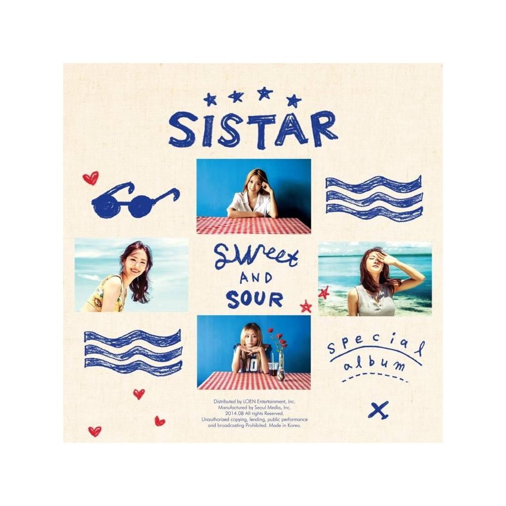 Sistar - Special Album Sweet & Sour