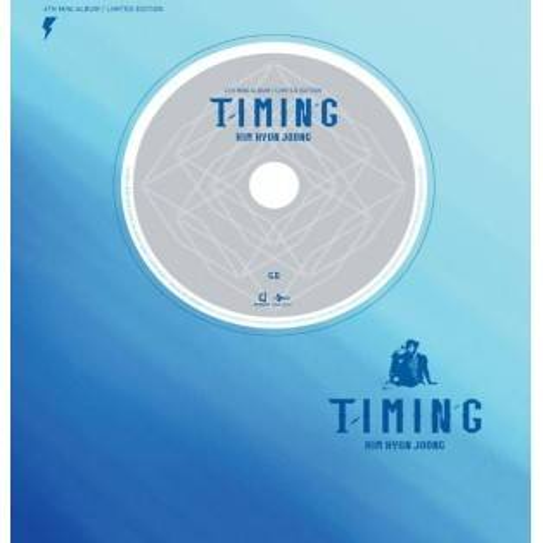 Kim Hyun Joong - 4th Mini Album Timing (Limited Edition)
