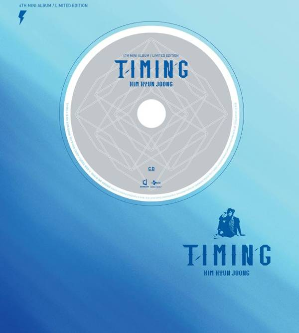 Kim Hyun Joong - 4th Mini Album: Timing (Limited Edition) CD+DVD