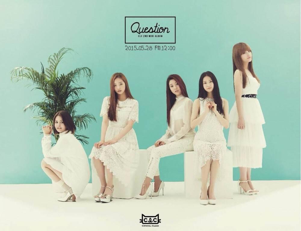 CLC - 2nd Mini Album: Question CD