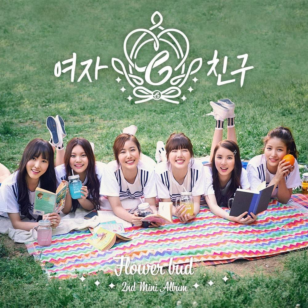 GFRIEND - 2nd Mini Album: Flower Bud CD