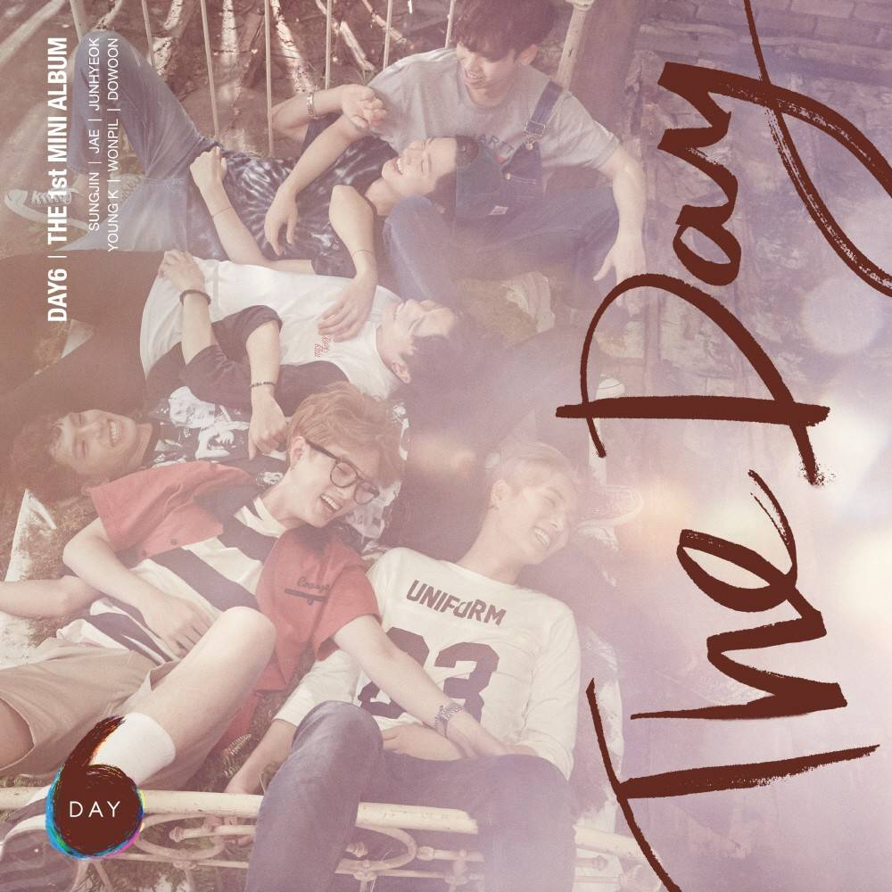 DAY6 - 1st Mini Album: The Day CD