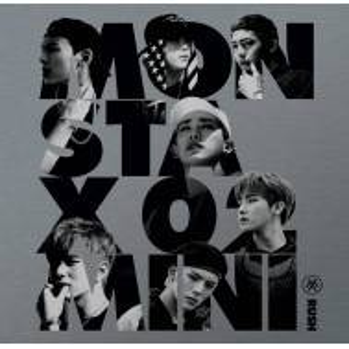Monsta X - 2nd Mini Album: Rush (Official Version) CD