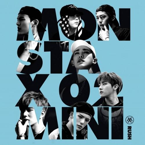 Monsta X - 2nd Mini Album Rush (Secret Ver.)