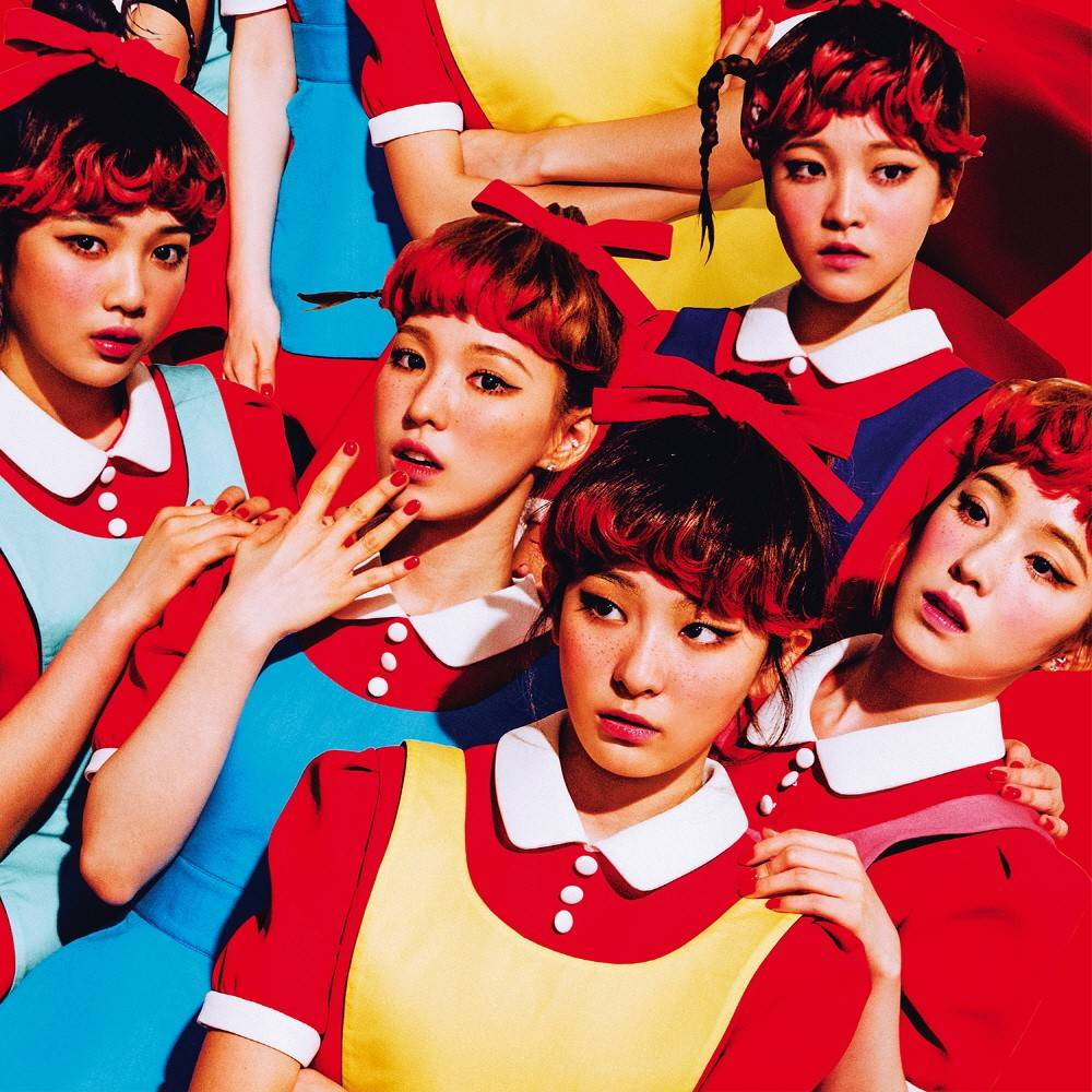 Red Velvet - 1st Album: The Red CD