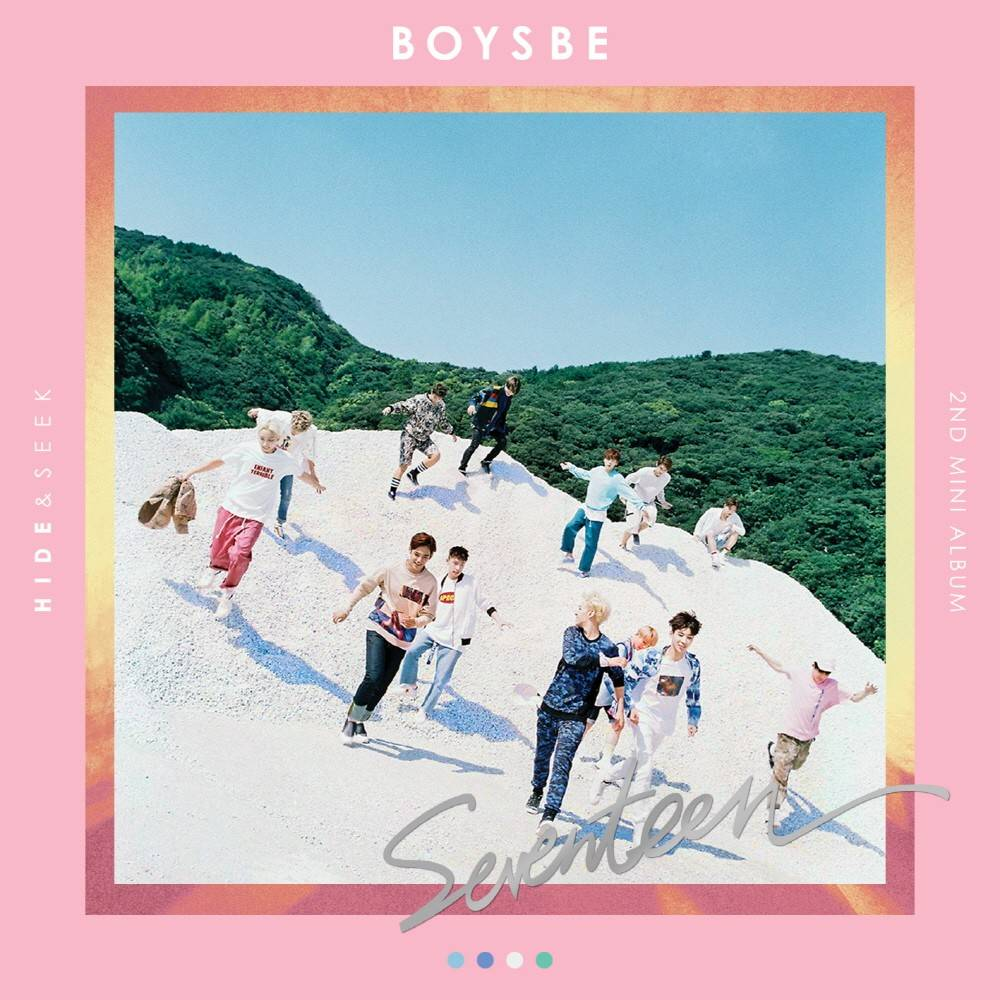 Seventeen - 2nd Mini Album: Boys Be (Seek Version) CD