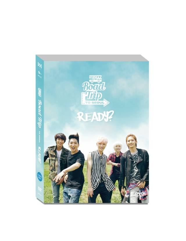 B1A4 - Road Trip to Seoul DVD
