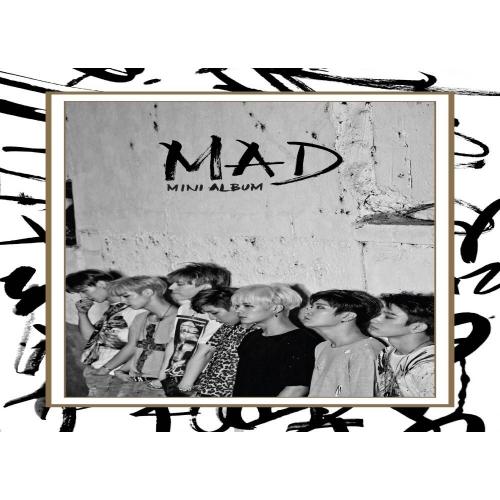 GOT7 - 4th Mini Album MAD (Vertical Ver.)