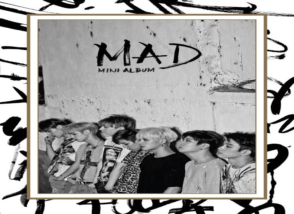 GOT7 - 4th Mini Album: MAD (Vertical Version) CD