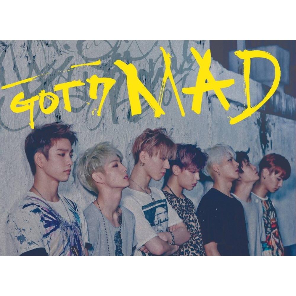 GOT7 - 4th Mini Album MAD (Horizontal Ver.)